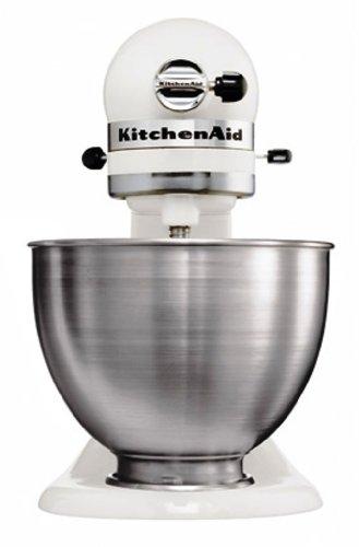 Kitchenaid artisan 5k45ssewh bianco l 39 impastratrice for Kitchenaid artisan prezzo